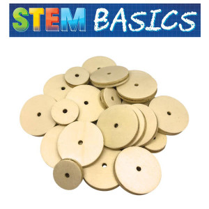 STEM Basics: Wooden Wheels