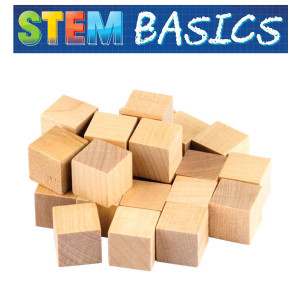 STEM Basics: Wooden Cubes