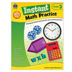 Instant Math Practice Book-Grade 3