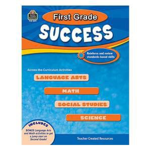 First Grade Success Book