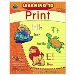 Learning to Print Grades K-2