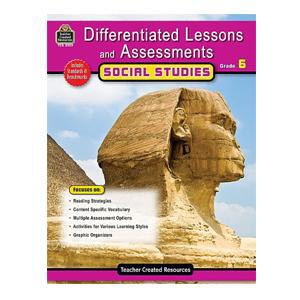 Differentiated Lessons Social Studies Grade 6