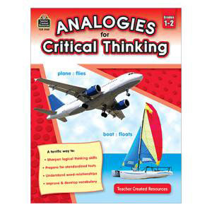 Analogies for Critical Thinking-Grades 1-2