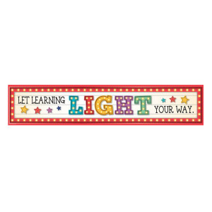 Marquee Let Learning Light Your Way Banner