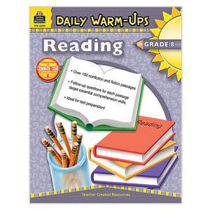 Daily Warm Ups Reading Book-Grade 8