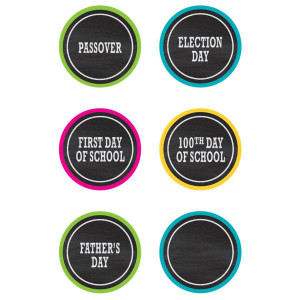 Chalkboard Brights Holidays & Special Events Days