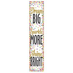 Confetti Dream, Sparkle, Shine Banner
