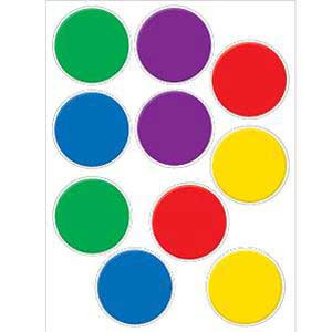 Colorful Circles Cut-Outs