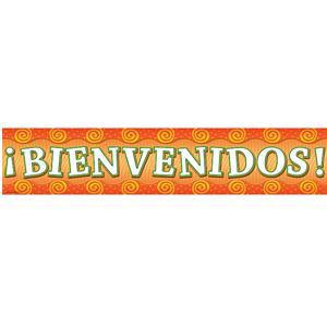 Bienvenidos-Spanish Welcome Banner