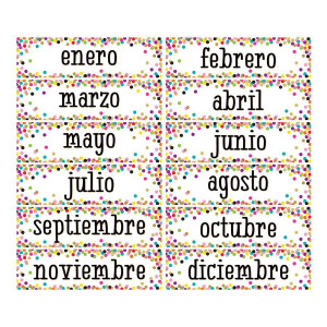Confetti Spanish Monthly Headliners