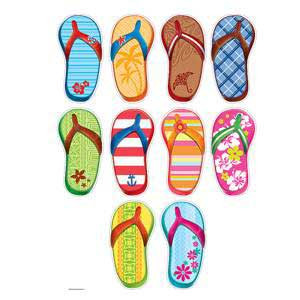 Summer Flip Flops Cut-Outs