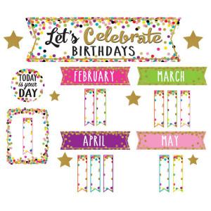 Confetti Let's Celebrate Birthdays Mini BB