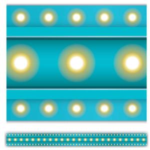 Marquee Light Blue Border