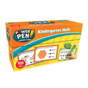 Math Power Pen Cards-Kindergarten