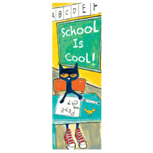 Pete The Cat Bookmark