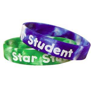 Fancy Star Student Swirl Wristbands