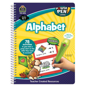 Alphabet Power Pen Learning Book K-1