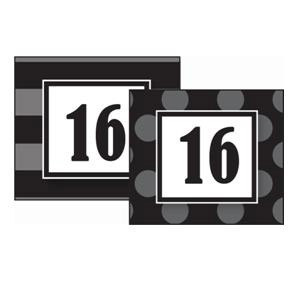 Black Sassy Calendar Days