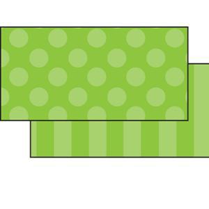 Green Sassy 2-Sided Border