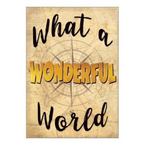 Together We What a Wonderful World Positive Poster