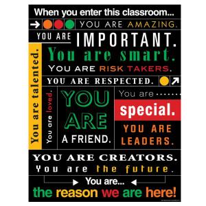 When You Enter This Classroom Subway Art Poster