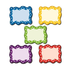 Magnetic Polka Dot Cards