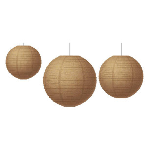 Burlap Lanterns