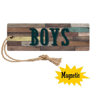 Home Sweet Classroom Magnetic Boys Hall Pass