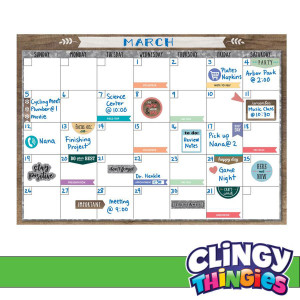 Home Sweet Classroom Clingy Thingies Calendar