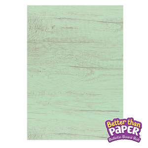 Mint Wood Better Than Paper Bulletin Board Roll