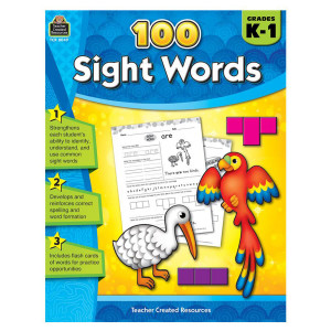 100 Sight Words Book - K-1