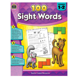 100 Sight Words Book - 1-2