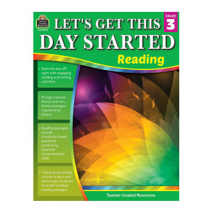 Let's Get This Day Started: Reading-Grade 3
