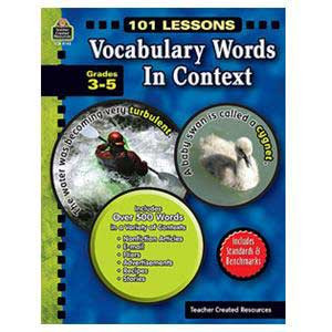 101 Lessons: Vocabulary Words in Context 3-5