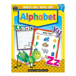 Alphabet Write-On/Wipe Off Book