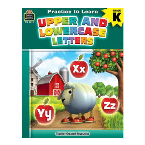 Practice To Learn: Upper & Lowercase Letters