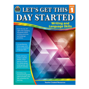 Let's Get This Day Started: Writing/Lang Arts-Gr 1