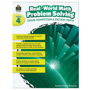 Real World Math Problem Solving Book- Grade 4