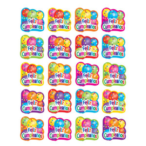 Feliz Cumpleanos Spanish Happy Birthday Stickers