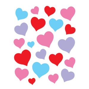 Charming Hearts Stickers