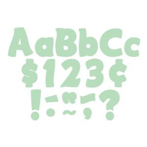 "Mint Green Funtastic 4"" Letters"