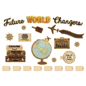 Travel the Map Future World Changer Bulletin Board