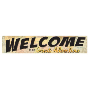Travel the Map Welcome to Great Adventure Banner