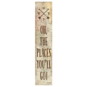 Travel the Map Oh the Places You'll Go! Banner