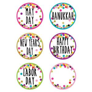 Confetti Holidays & Special Events Calendar Days