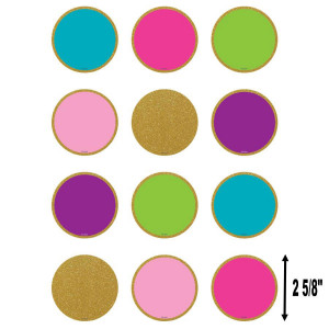 Confetti Colorful Circles Small Cut-Outs