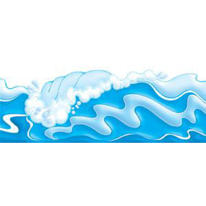Ocean Waves Punch-Outs