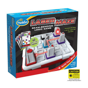 Laser Maze Beam-Bending Logic Game