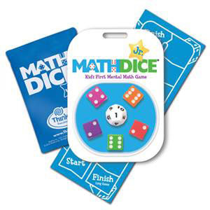 Math Dice Jr. Game