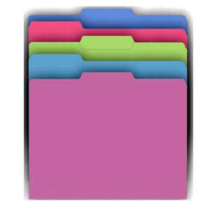 Galactic Assorted File Folders-10 Count
